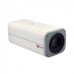 B214 Acti 4.7-94mm 60FPS@ 1920 x 1080 Day/Night Outdoor WDR Box IP Security Camera POE