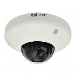 D92 ACTi 2.93mm 15FPS @ 2048 x 1536 Resolution Indoor Dome IP Security Camera PoE Class 1 (IEEE802.3af)