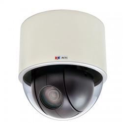 I92 ACTi 4.3-129mm Varifocal 30FPS @ 1920x1080 Indoor Day/Night WDR PTZ IP Security Camera 12VDC/PoE