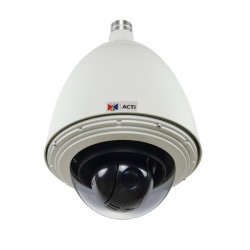 KCM-8211 ACTi 4.7-84.6mm  15FPS @ 1920 x 1080 Resolution Outdoor IR Day/Night WDR Dome IP Security Camera 12VDC/High PoE (IEEE802.3at)