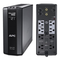 BR1000G APC 8 Output Desktop/Tower UPS Battery Backup 120VAC 1000VA