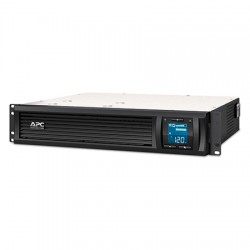 SMC1000-2U APC 6 Output 2U Rack Mount UPS Battery Backup 120VAC 600 Watts 1000VA