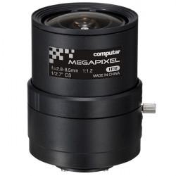 """A3Z2812CS-MPWIR Computar 5MP 1/2.7"""" 2.8-8.5mm Varifocal F1.2-F16C CS Mount Manual Iris IR Corrected Lens"""