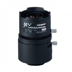 "A3Z3112CS-MPIR Computar 1/2.7"" CS-Mount 3.1-8mm Vari-focal F/1.2 3 Mega-Pixel IR-corrected Manual Iris Lens"