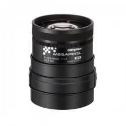 A4Z1214CS-MPIR Computar CS-Mount 12.5-50mm Vari-focal F/1.4 3 Mega-Pixel IR-corrected Manual Iris Lens