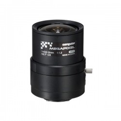 A4Z2812CS-MPIR Computar CS-Mount 2.8-10mm Varifocal F/1.2 3 Mega-Pixel IR-corrected Manual Iris Lens