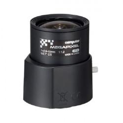 AG4Z2812FCS-MPIR Computar CS-Mount 2.8-10mm Vari-focal F/1.2 3 Mega-Pixel IR-corrected DC Iris Lens