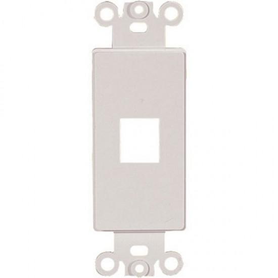 20-5142 1 Keystone Insert Decor Plate - White