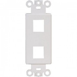 20-5152 2 Keystone Insert Decor Plate - White