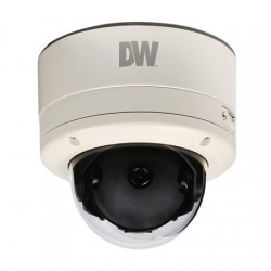 DWC-PV2M4T Digital Watchdog 4.9mm 30FPS @ 1920 x 1080 Outdoor Day/Night Panoramic Dome IP Security Camera 12VDC/PoE