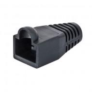 VDV824-632 Klein tools Strain Relief Boot - RJ45, Black - Pack of 10