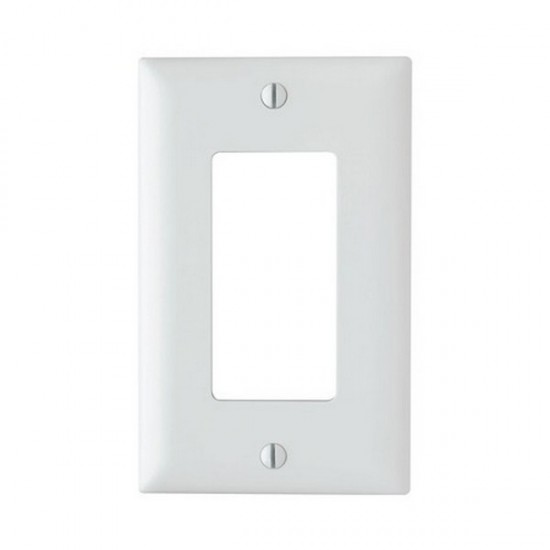TP26W-20 Legrand On-Q Single Gang Decorator Wall Plate - White - 20 Pack