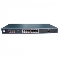 P3POE18-30G P3 16 Port Full Gigabit PoE Switch and 2 SFP Ports