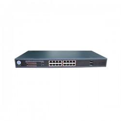 P3POE18-30GM P3 16 Port Web Managed PoE Switch and 2 Uplink Ports