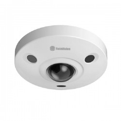 IPFE12-IR-V Rainvision 1.57mm 15FPS @ 12MP Outdoor IR Day/Night WDR Fisheye Panoramic IP Security Camera 12VDC/PoE