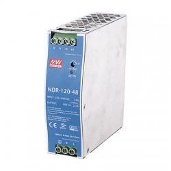 NDR-120-48 Vivotek 120W Din Rail Power Supply 48VDC