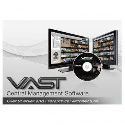 VAST-1CH Vivotek VAST VMS 1 Channel Add-on or 1 Channel 3rd Party License